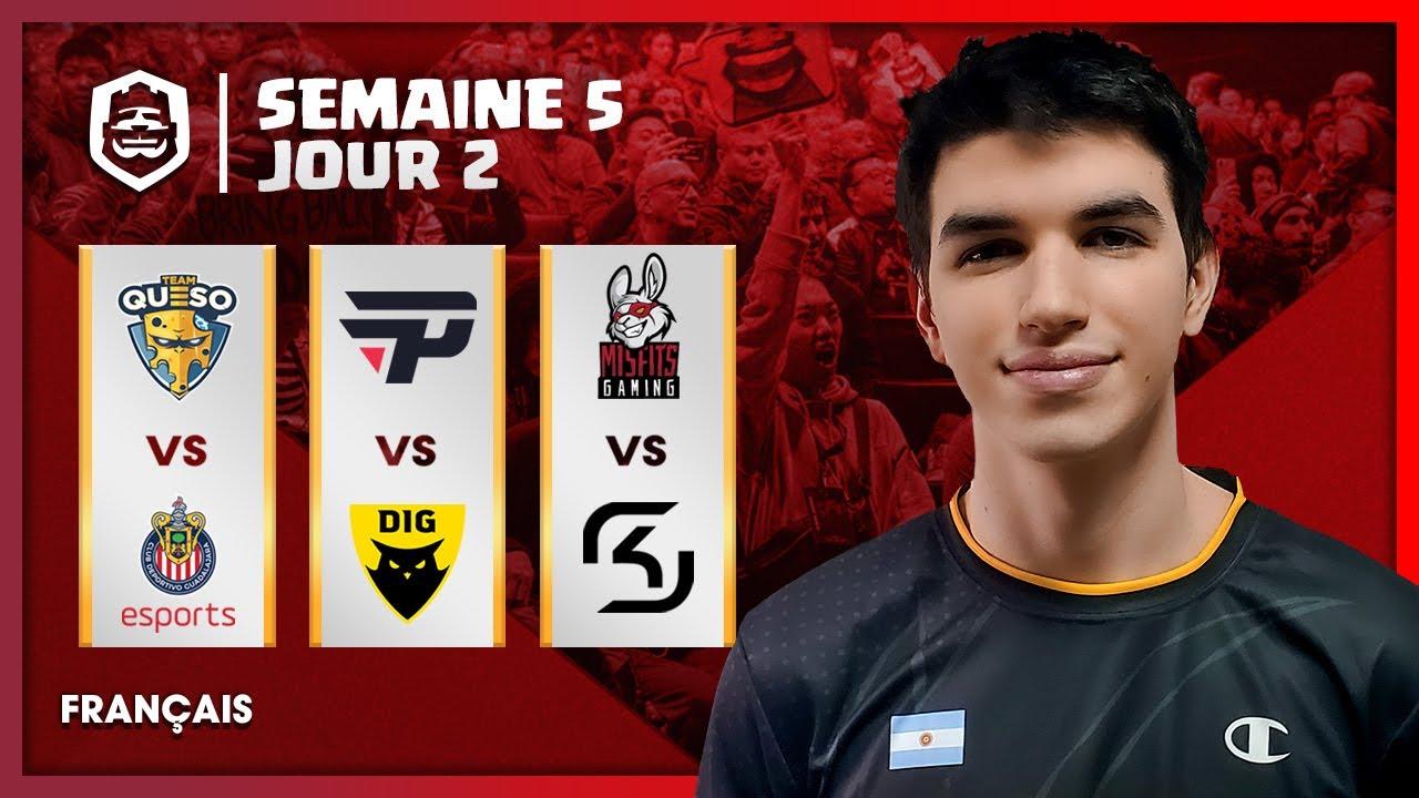 Clash Royale League : CRL West 2020 Fall | Semaine 5 Jour 2 ! (Français)