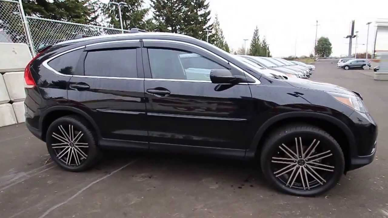 2014 Honda CR V LX | Crystal Black | EH616208 | Seattle | Renton   YouTube