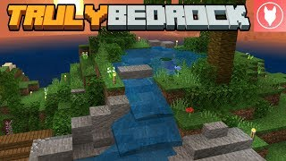 Truly Bedrock SMP: Episode 8 - Finishing the Waterfall & New Shop Item