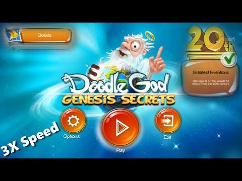 Doddle God Genesis Secrets [Greatest Inventions] 4x speed  