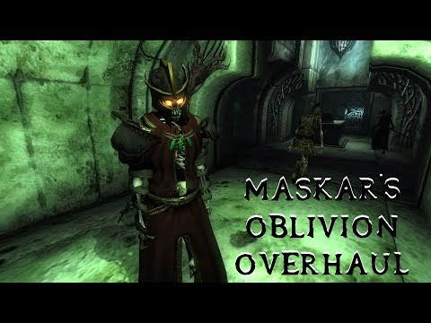 Mod Recommendation - Maskar's Oblivion Overhaul - YouTube