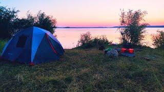 РЫБАЛКА НА ФИДЕР Хороший клёв подЛЕЩА на реке Рыбалка с ночёвкой