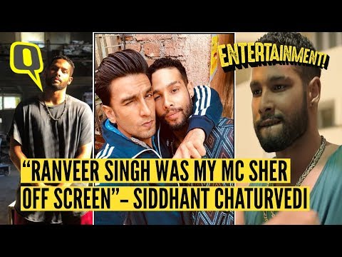 Getting to Know Siddhant Chaturvedi aka 'MC Sher' From Gully Boy | The Quint Mp3