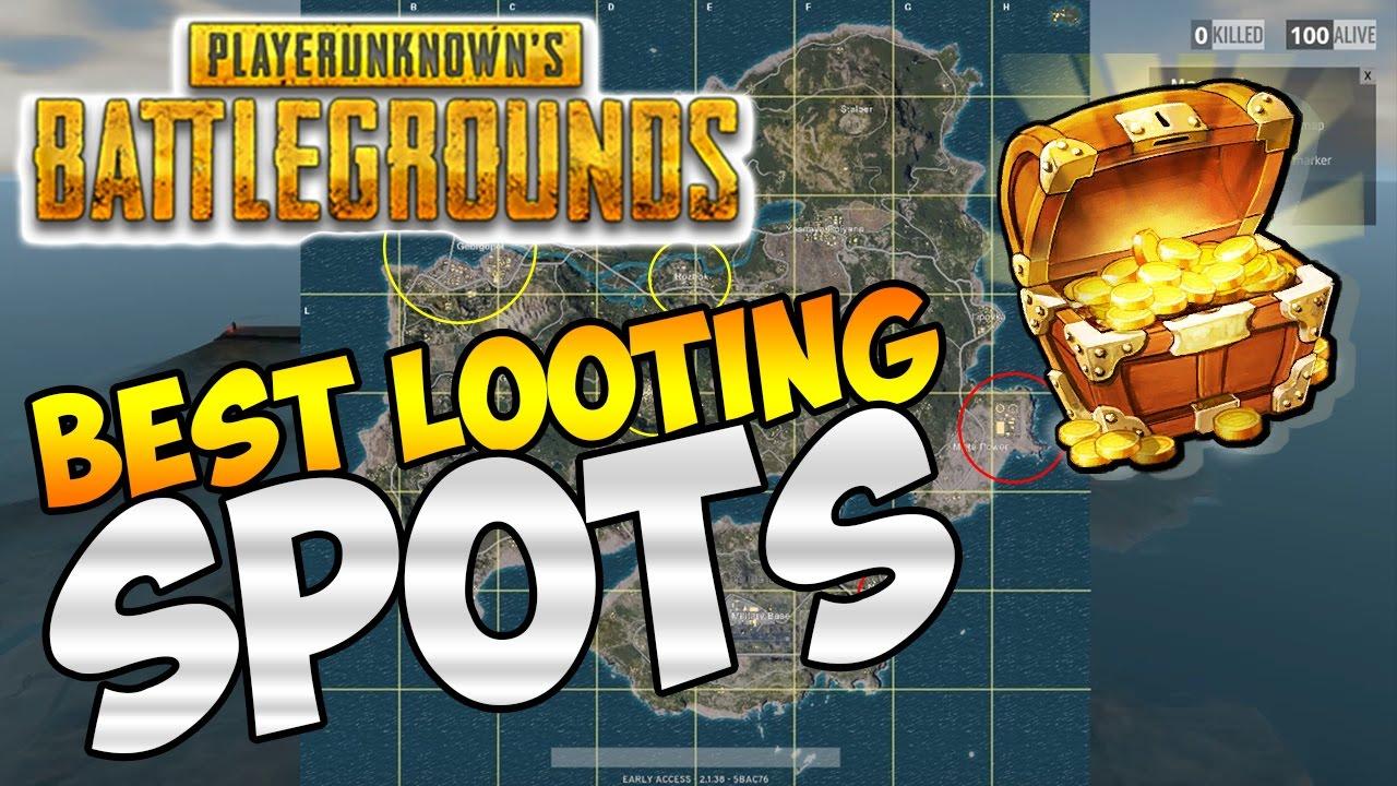 Playerunknown S Battlegrounds Maps Loot Maps Pictures: BEST LOOT SPOTS IN PLAYERUNKNOWN'S BATTLEGROUNDS: PUBG