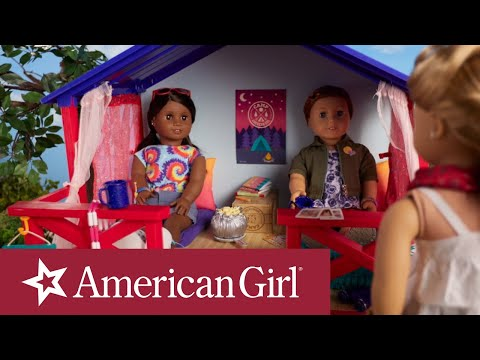American Girl Camp Stop Motion | American Girl