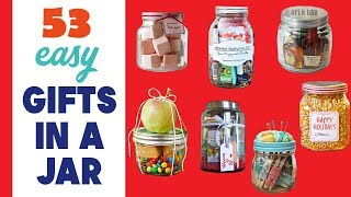 Gifts In A Jar | 53 Mason Jars Gifts For Quick And Easy Presents