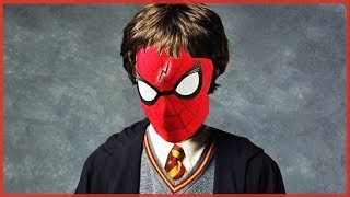 Harry Potter and the Slap of Spider-Man