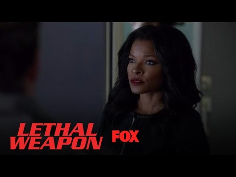 Trish Lays The Law Down On Murtaugh And Riggs | Season 1 Ep. 12 | LETHAL WEAPON