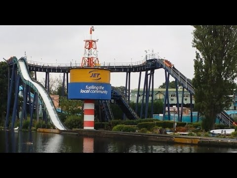 Drayton Manor - Storm Force 10 - Scary On  Ride