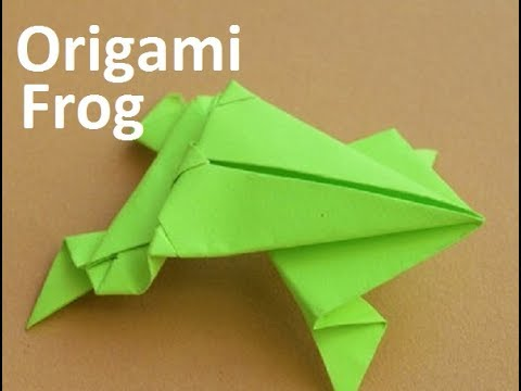 Origami Frog:The Best Ways To Make An Origami Jumping Frog