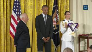 President Obama Awards the Arts & Humanities Medal