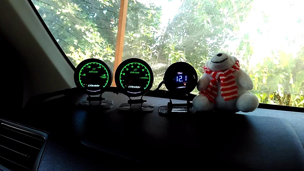 pemasangan rpm / indikator tachometer pada mobil avanza