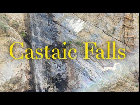 Hike To Castaic Falls Near Lake Hughes, California