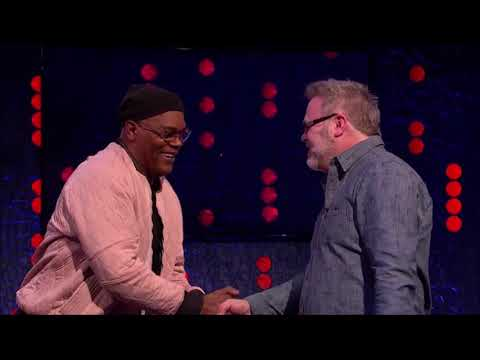Bryan Hitch Meets Samuel L Jackson and Brie Larson on The Jonathan Ross Show Unaired