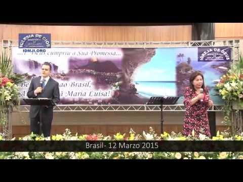 Clip de video - Visita de la Hermana María Luisa Piraquive a Brasil