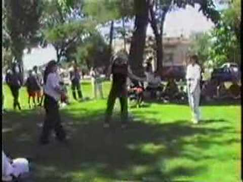 Kumite in the Park: 1993 -- Angela Cook