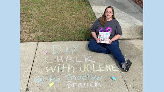 STEAM Sit Down Online!: DIY Chalk with Jolene