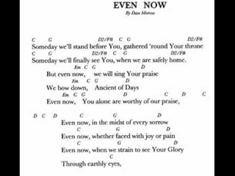 """""""Even Now"""" by Dave Morrow"""