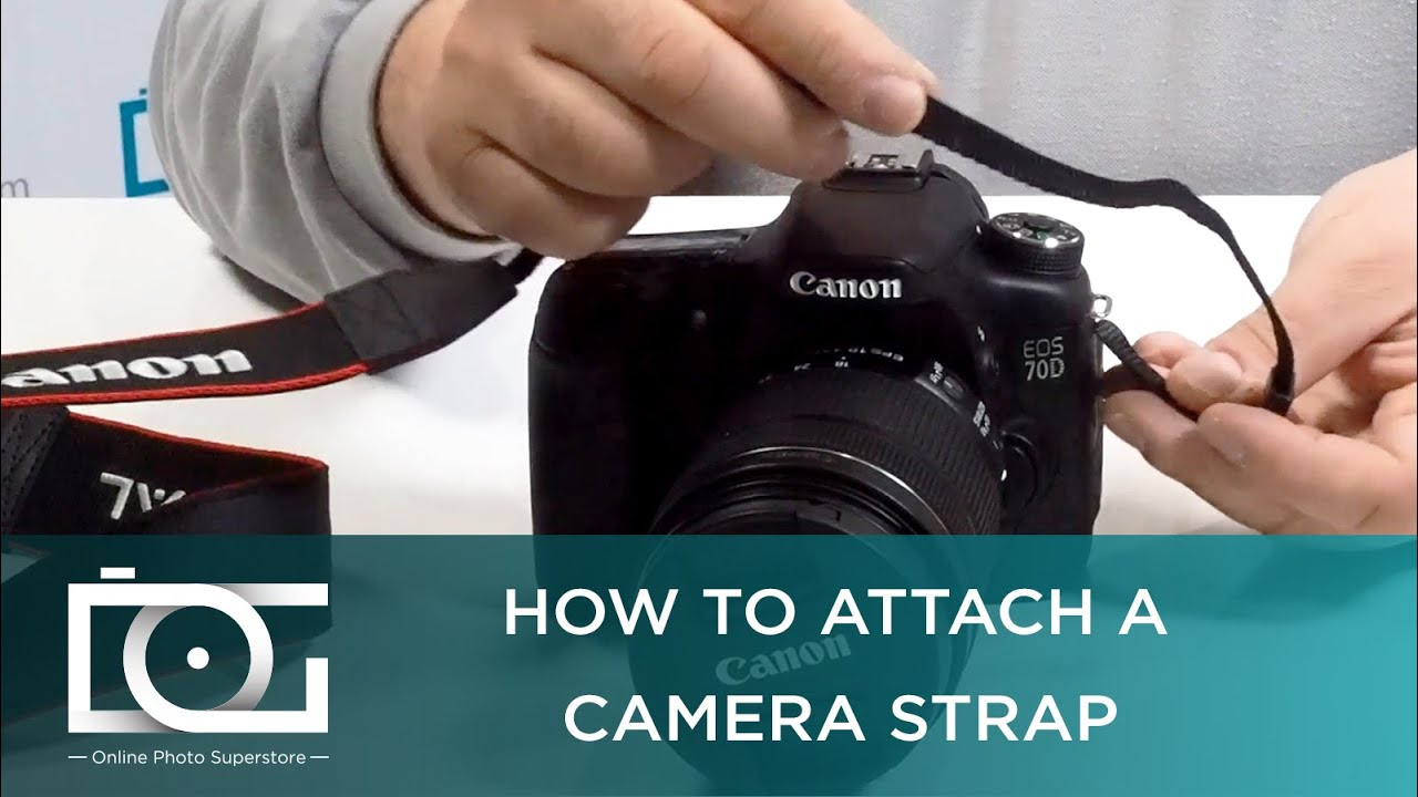 Camera Strap | How to Put On a Camera Strap | How to ...