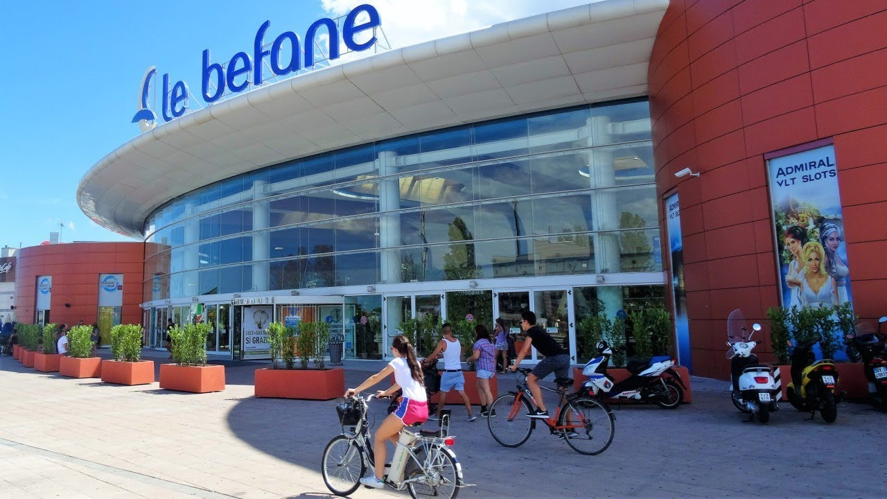 Le Befane Shopping Centre Rimini, Italy