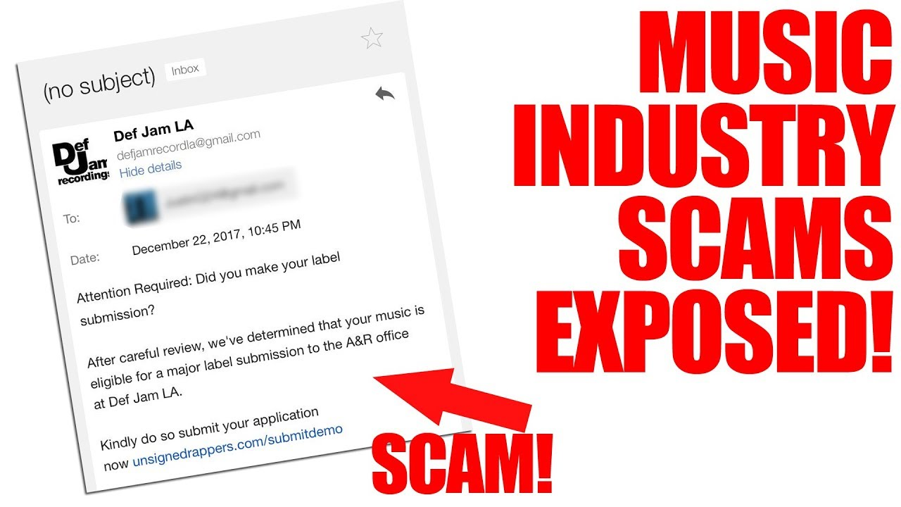 Konvict Musik A&R D-Teck warns against scammers posing as Def Jam reps