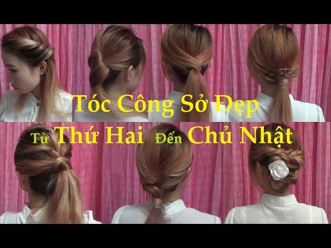 Hairstyles – Tóc Đẹp Mỗi Ngày – 7 Kiểu Tóc Công Sở #2 | Yêu Làm Đẹp