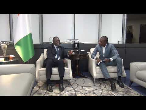 INTERVIEW DU MINISTRE   18 DEC 2017 1  METRO D'ABIDJAN