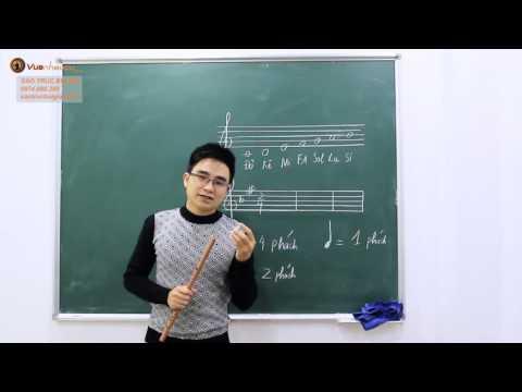 Học thổi sáo - Bùi Công Thơm hướng dẫn dễ hiểu (Bài 1)
