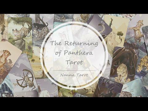 開箱  帕德拉歸來塔羅牌 • The Returning of Panthera Tarot // Nanna Tarot