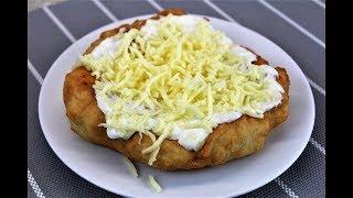 Пышные Лепешки с чесночным соусом и  сыром /Лепешки из дрожжевого теста