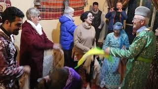 Route Shiraz to Qashqai Village (Dancing) at Fars Province Iran 2019
