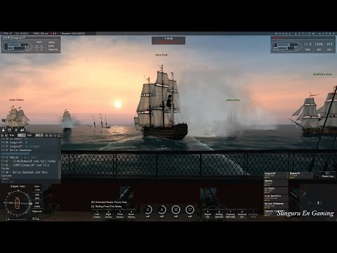 Naval Action] British Rear Admiral Fleet Mission with Six Pl