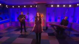 Christina Perri -- Something About December (Big Morning Buzz Live)