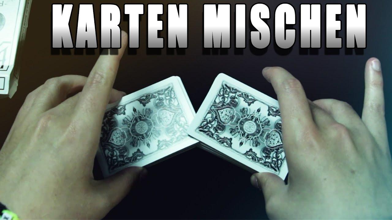 Karten Mischen Tricks
