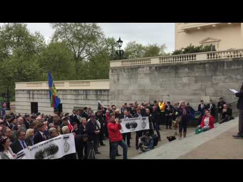 Justice for Northern Ireland Veterans - London - 14 April 2017