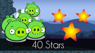 Bad Piggies - 40 STARS (Field of Dreams) - The Easiest Way to Get it