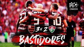 Flamengo 3 x 2 Fluminense - Bastidores