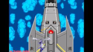 Super Thunder Blade (Sega Mega Drive / Genesis) - (All Bosses   Hard Difficulty)