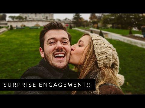 Surprise Engagement in PARIS!!