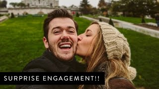 Surprise Engagement in PARIS!! Thumbnail