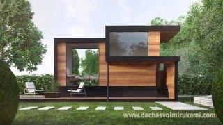Как построить деревянный дом своими руками + фото и видео