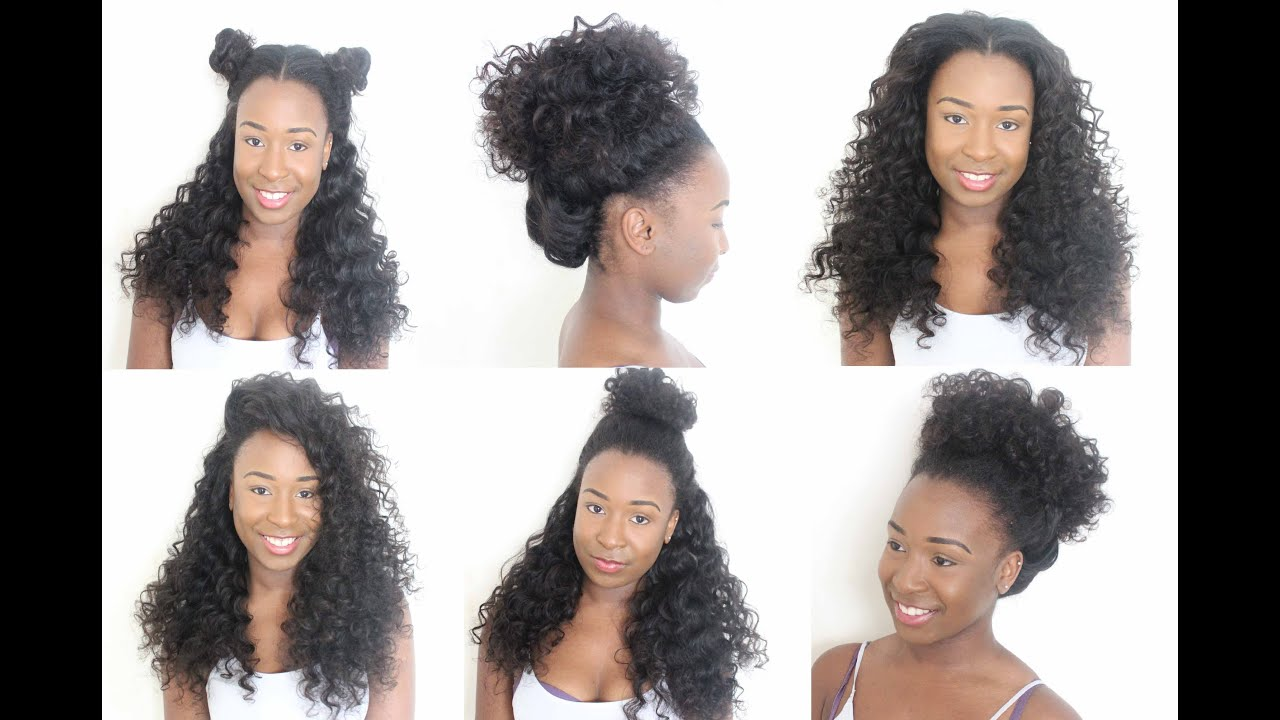 Crochet Braids Greenville Sc : The Versatile Flip Over Sew In Tutorial - YouTube