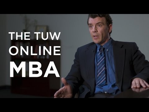 The TUW Online Master of Business Administration