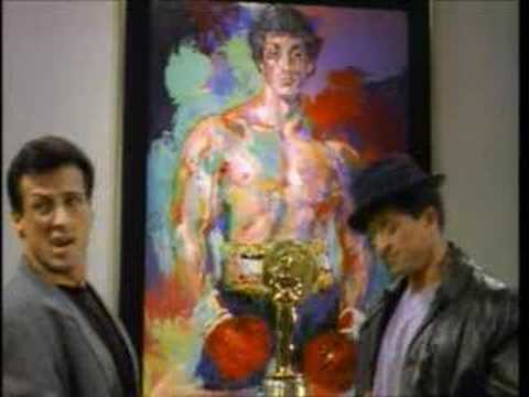 Stallone meets Rocky