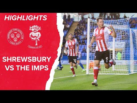 Shrewsbury Lincoln Goals And Highlights