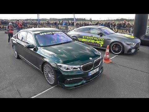Alpina BMW B7 BiTurbo vs Mercedes-AMG GT63 S 4-Door 4MATIC+
