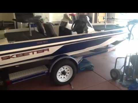 1997 Skeeter Fish And Ski Boat For Sale