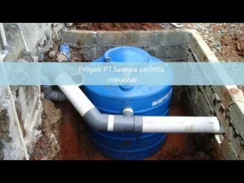 BIOFILTER SEPTIC TANK (IPAL/STP)
