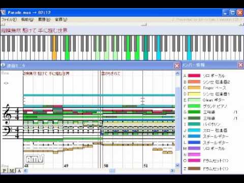 Naruto Ending 12 - Chaba - Parade [MIDI]