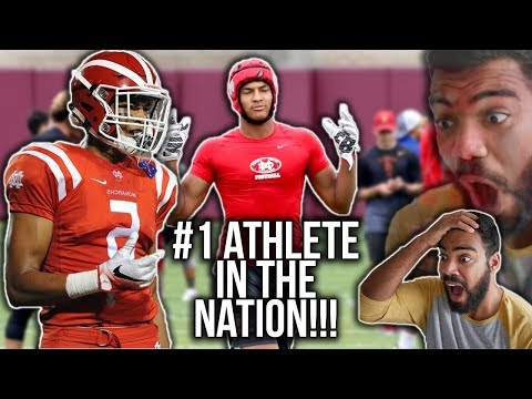 The Most DANGEROUS Athlete In High School!!!- Bru McCoy Highlights [Reaction]